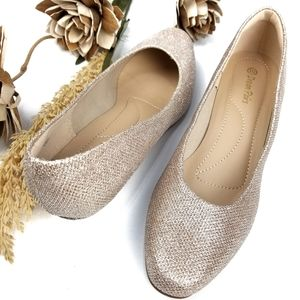 NEW💥 Dream Pairs 💥Gold Formal Kitten Heels 10m